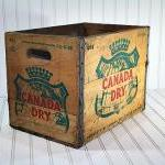 Vintage Wood Crate / Wooden Box / C..