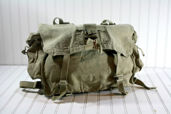 Vintage Canvas Messenger Bag   Vintage Military Bag on Luulla de266e8e5d2