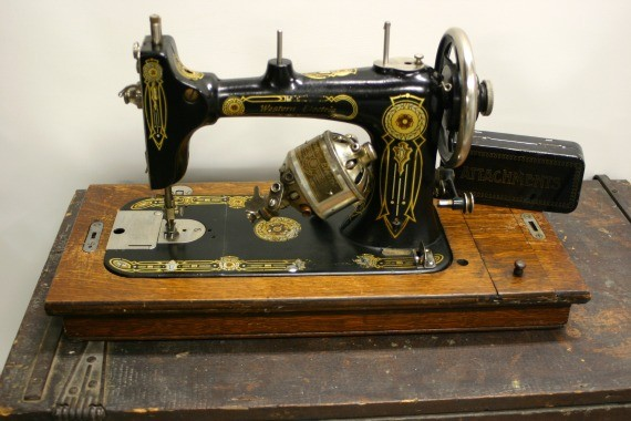 Vintage Western Electric Sewing Machine Late 1800 S On Luulla